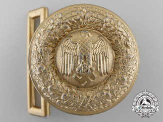 A German Army (Heer) General's Belt Buckle