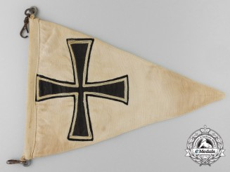 A Kriegsmarine U-Boat Pennant Captured by  Rear Admiral  Houghton RCN