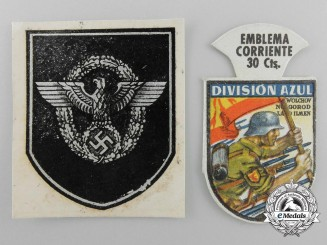 Two Paper Insignia