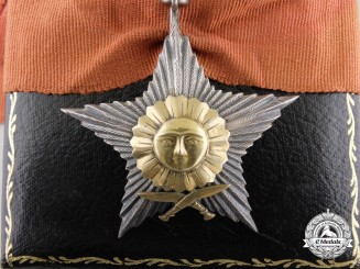 A Nepalese Order of Gurkha Dakshin Bahu; 4th Class Neck Badge