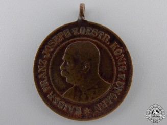 A 4th Wurttemberg Infantry Regiment No. 122 Centennial Medal 1806-1906