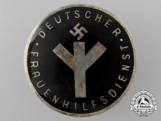 A Deutscher Frauenhilfsdienst (Woman's Auxilary Service) Badge