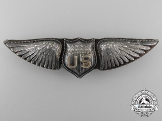 "A First War United States Air Service Pilot Wing; ""Dallas"" Type, by BB&B"