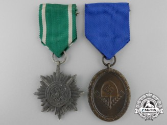 Two Second War Period German Medals & Decorations