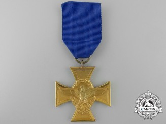 A German Police Long Service Cross; First Class