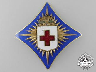 Hungary, Kingdom. A Red Cross Award, by Beran N. Budapest, c.1935