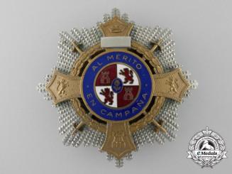 A Franco Period Spanish War Cross; Breast Star