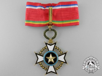 A Central African Order of Merit; Commander's Cross