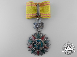 A Tunisian Order of Nishan El Iftikar; Commander's Neck Badge (1829-1942)