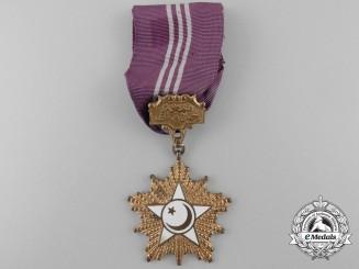 An Order of Khidmet (Tamgha-i-Khidmat); Third Class