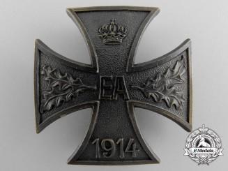 A 1914 Brunswick-Ernst-August Cross; First Class