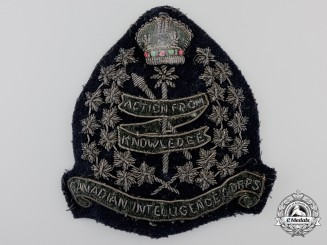 A Second War Canadian Intelligence Corps  Patch