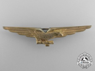 A Second War Italian Pilot's Wing