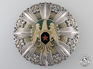 Syria. An Order of Military Honour, I Class Grand Cross Star, c.1955
