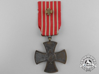 A Portuguese Republic War Cross