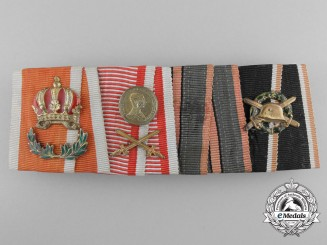 A First War Austrian Ribbon Bar