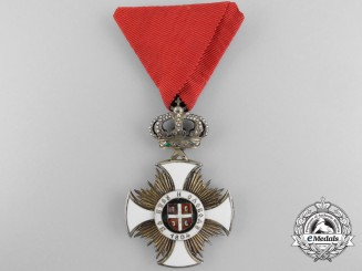 A Serbian Order of Kara-George; Fourth Class Officer
