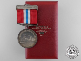 A Norwegian Society for Sea Rescue Medal