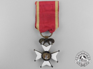A Spanish Order of Fernando; Third Class