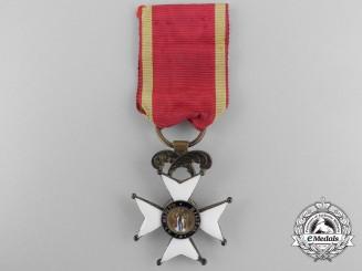 A Spanish Order of Fernando; Third Class