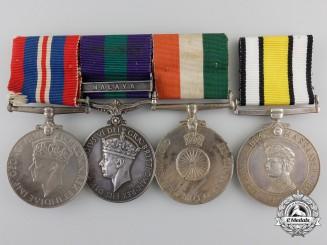 A Second War & Malaya Service Group to the 6th Gurkha Rifles