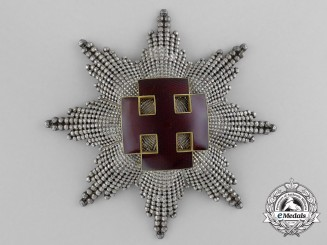 An Austrian Merit Order; Grand Cross 1st Class Breast Star by Anton Reitterer