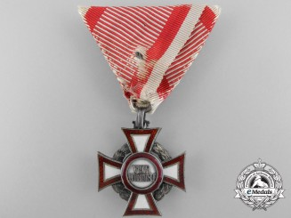 A German Made Austrian Military Merit Cross by Sedlatzer