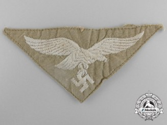 A Uniform Removed Afrika Korps Breast Eagle