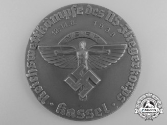 A 1938 National Socialist Flying Corps Empire Races of the Air Corps at Kassel Award