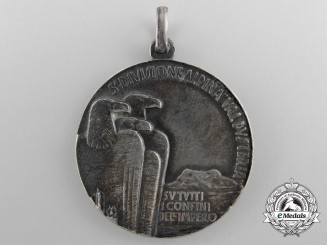 "A 1935 Italian 5th Alpine Division ""Val Pusteria"" Ethiopian Campaign Medal"