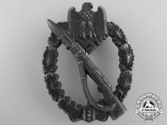 A Silver Grade Infantry Badge by Gebruder Wegerhoff, Lüdenscheid