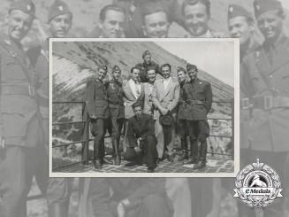 A Fine Photo of Ustasha Officers, 1941
