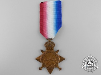 A 1914-15 Star to Private McFee; 5th Battalion, Highland Light Infantry, DOD