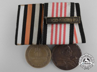 A Prussian 1870-71 & Africa Service Medal Pairing