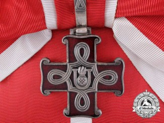 Croatia. A Second War Croatian Order of Merit; Grand Cross