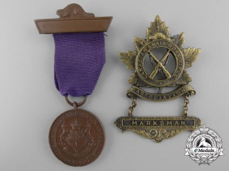 Two First War Canadian Medals