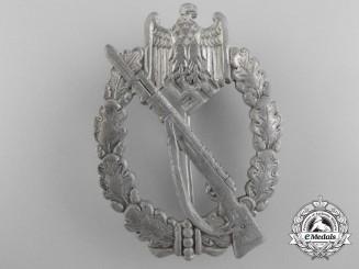 A Silver Grade Infantry Badge by Carl Wild, Hamburg