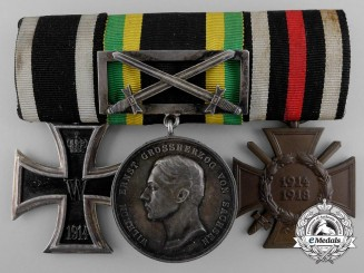 A First War Saxe-Weimar Medal Bar