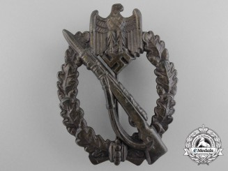 A Mint Bronze Grade Infantry Badge by Ferdinand Wiedmann