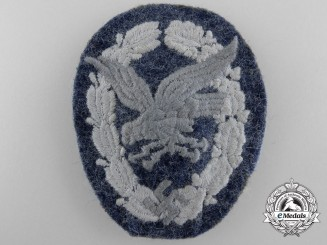 Germany. A Luftwaffe Radio Operator & Air Gunner Badge, Cloth Version