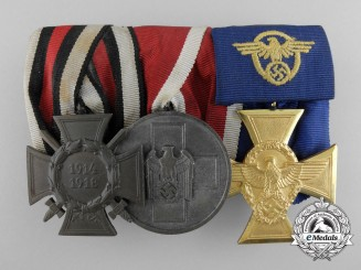 A Police Long Service Medal Bar