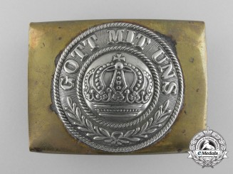 An Early Prussian Army Belt Buckle
