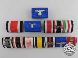 A Lot of Five German Ribbon Bars