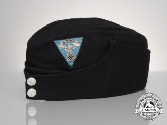 A National Socialist Motor Corps Enlisted Man's Side Cap