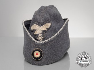 A Luftwaffe Officer's Overseas Field Cap