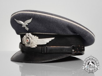 A Luftwaffe Officer's Visor Cap by Robert Lubstein