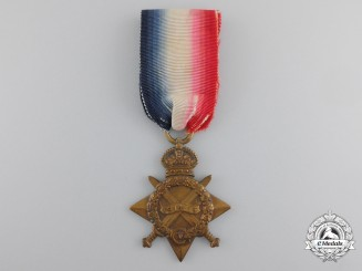 A 1914-15 Star to the 2nd Battalion, King's Own Scottish Borderers; Lost on the Somme