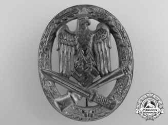 A Second War General Assault Badge