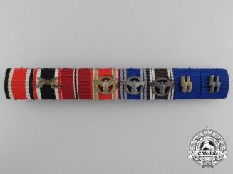 An Eight Piece Ribbon Bar