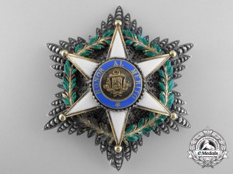 A Fine Venezuelan Order of Merit; Breast Star by Halley of Paris